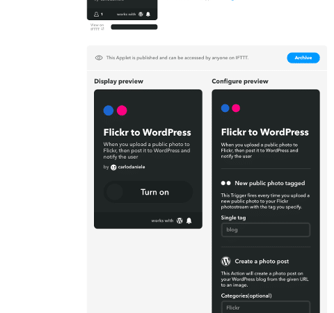 How to Use WordPress IFTTT Recipes to Automate Your Workflow