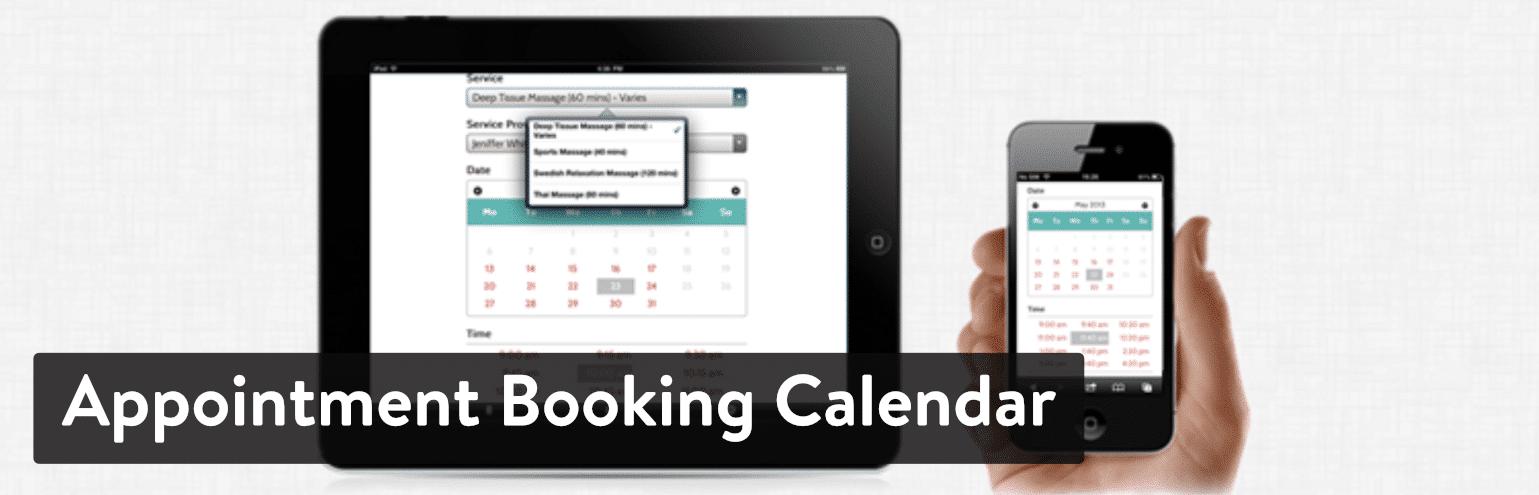 Appointment Booking Calendar by Birchpress plugin