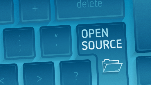 open source button on keyboard
