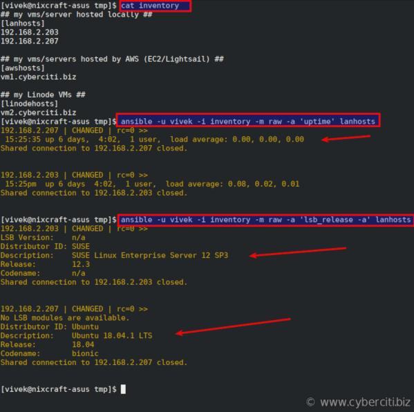 Testing Ansible on Fedora Linux