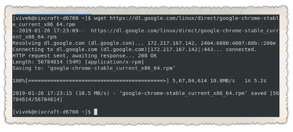 How to Install Google Chrome Web Browser on CentOS 7