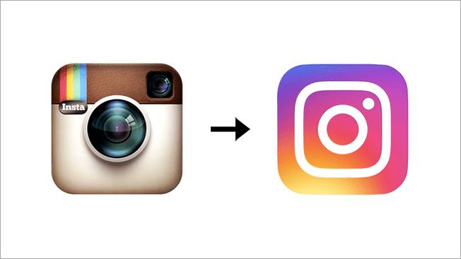 Instagram changes logo