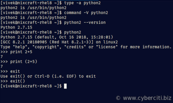 How to install Python 3 on Red Hat Enterprise Linux and verify it