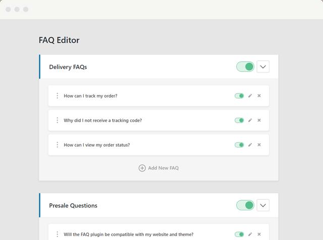 Heroic WordPress FAQ Plugin