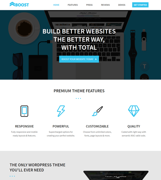 Total Best WordPress Theme