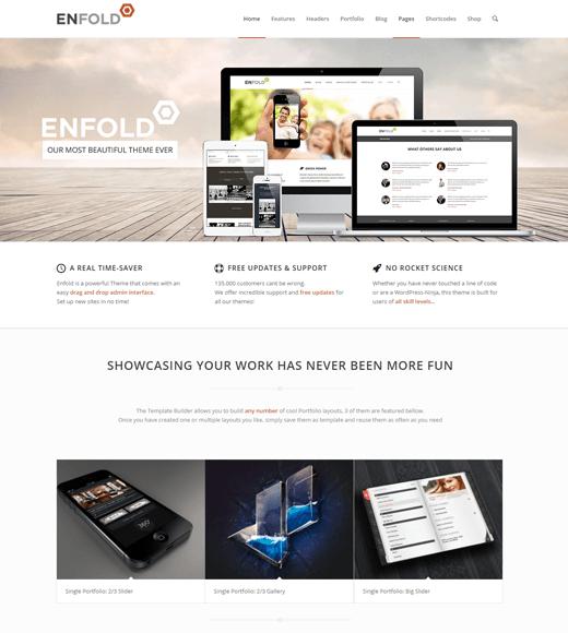 Enfold Theme Demo Page