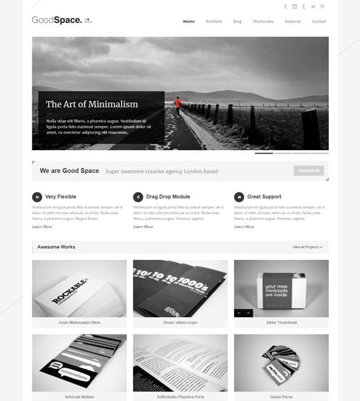 Good Space Best WordPress Theme