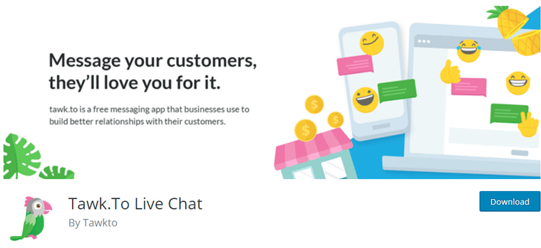 Twak.To Live Chat