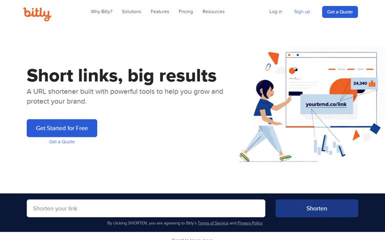 Bitly-URL-Shortner-to-make-long-URLs-Shorter
