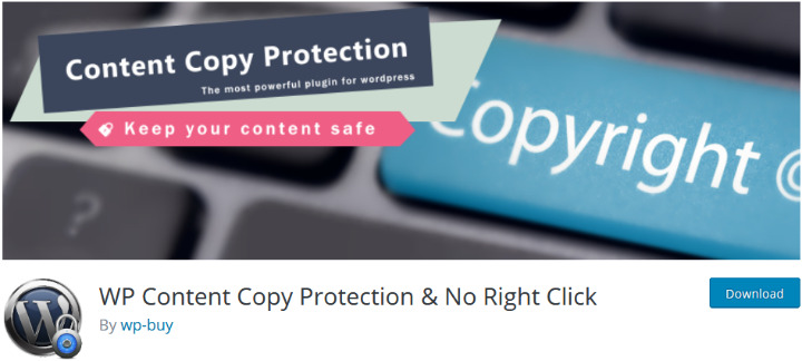 wp content copy protection must have wordpress plugin
