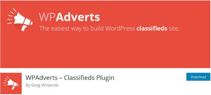 wpadverts best free wordpres plugins