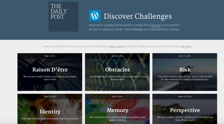 discover challenges