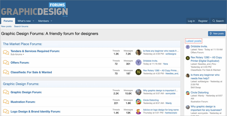 Graphic Design Forums (UK)