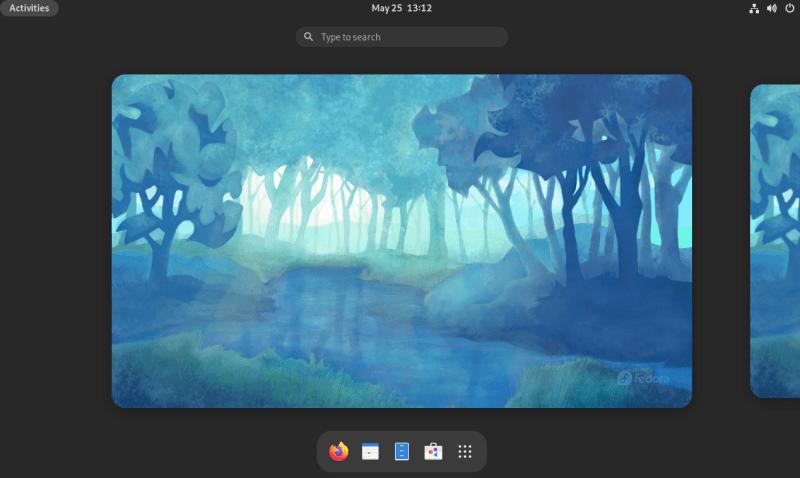 fedora 34 desktop
