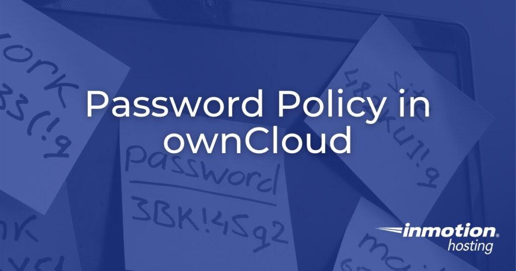Password Policy in ownCloud