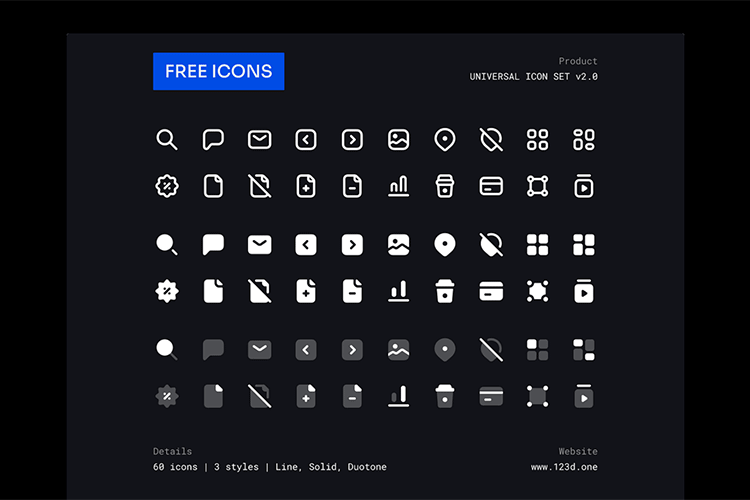 Example from Universal Icon Set