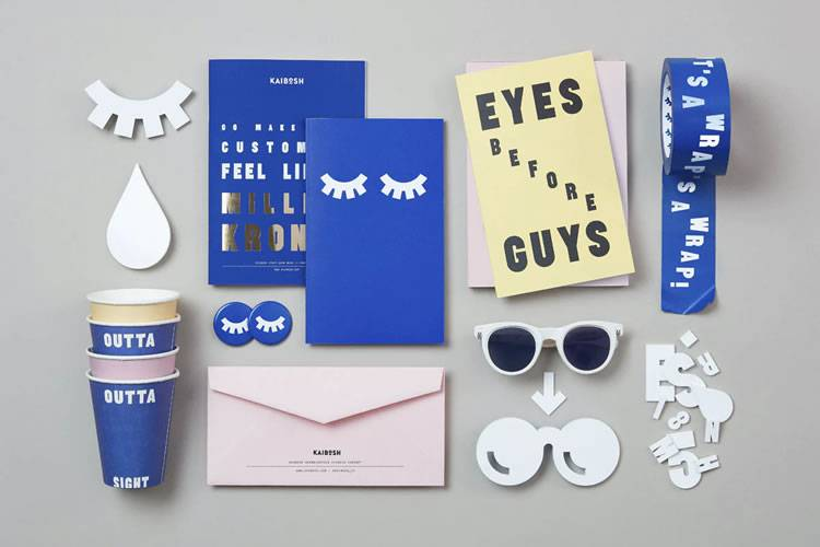 Example from 25 Beautifully Designed Examples of Brand Presentation