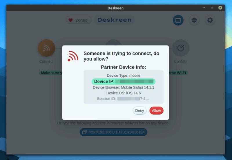 deskscreen connect