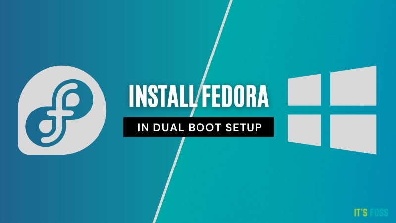 fedora windows dual boot