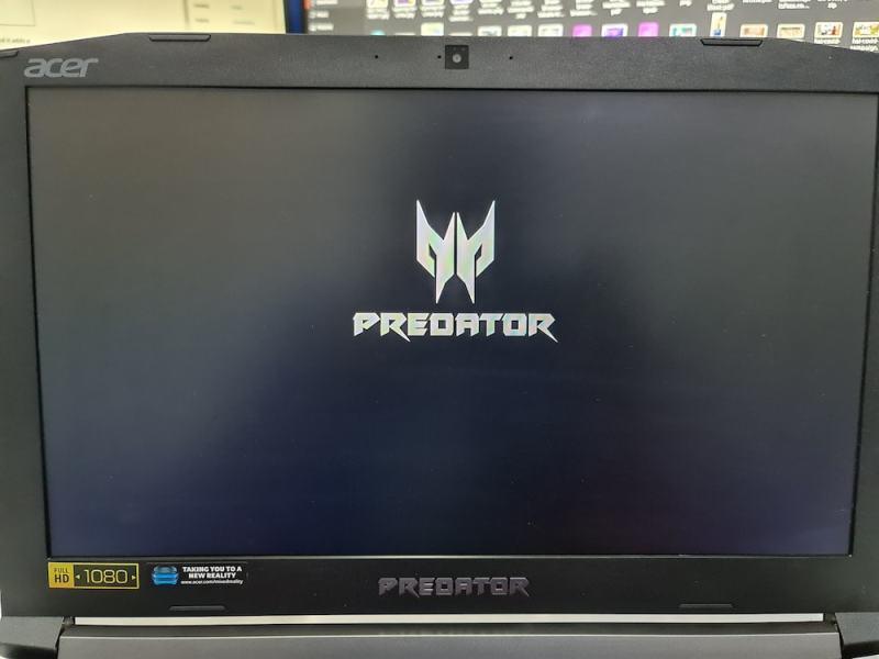 acer predator boot