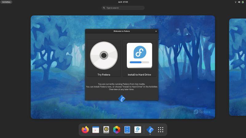 fedora install screen