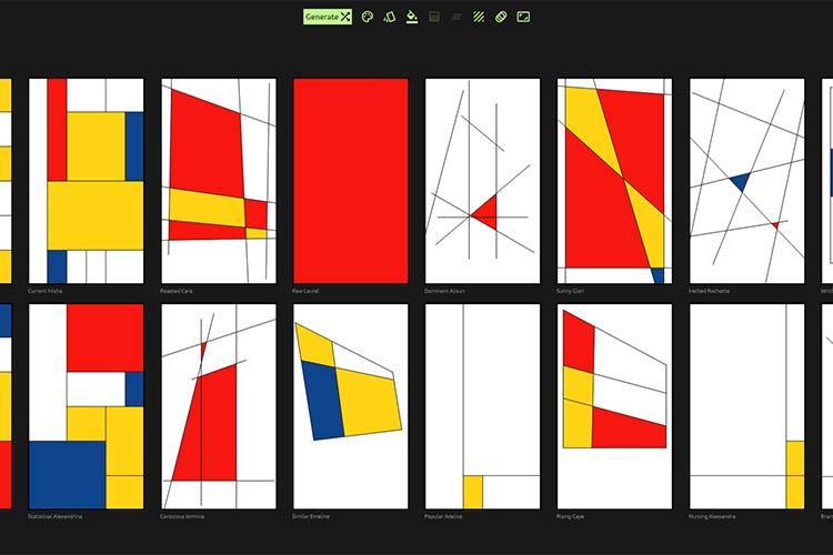 Example from Mondrian