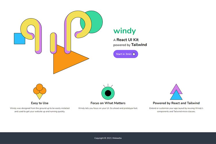 Example from Windy