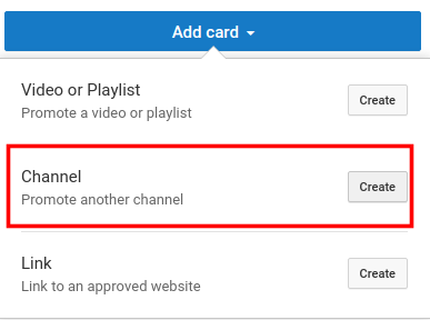 add youtube cards to increase youtube views