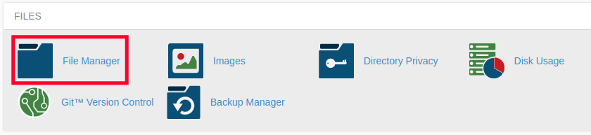 Edit Website Files with cPanel File Manager