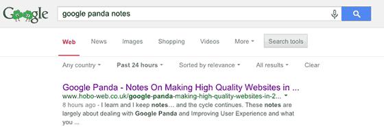 improve google rankings - using title tags