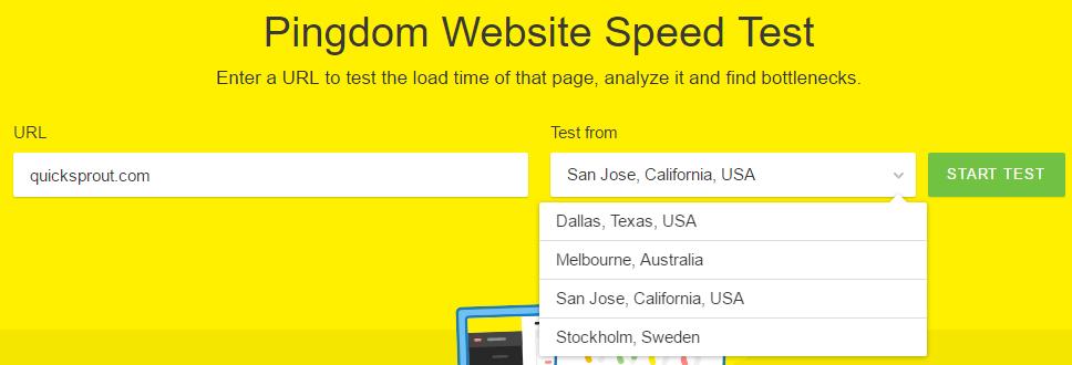 improve google ranking - pindgom test