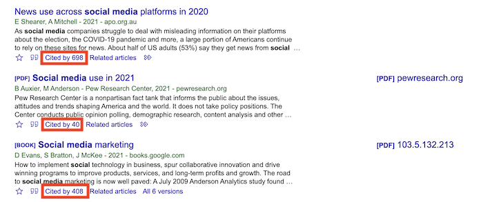 How to Use Google Scholar to Find Content Ideas - Follow the Citations for Ideas
