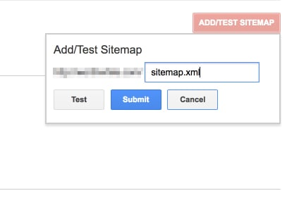 Enter sitemap URL into Google Search Console for How to Create an SEO-Boosting XML Sitemap