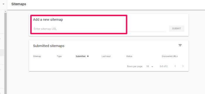 Add sitemap in Google Search Console for How to Create an SEO-Boosting XML Sitemap