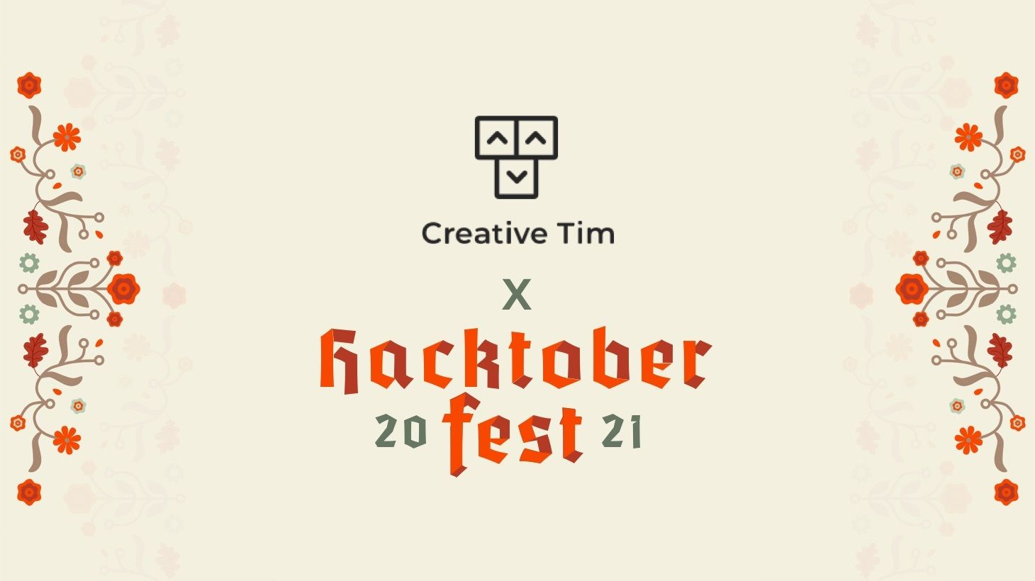 Join us for Hacktoberfest and Win 1 of the 10 special Creative Tim prizes